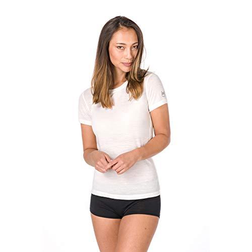 Super.Natural Damen Base Merino T-shirt, Weiß, M