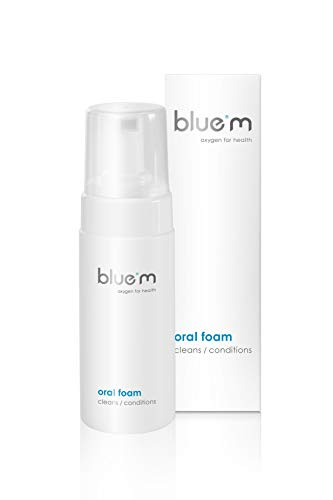 BlueM Foaming Retainer Cleaner Fluoride Free with Active Oxygen – Oral Foam for Daily Maintenance of Retainers, Gums and Oral Mucosa (2+ Months Supply 100ml)