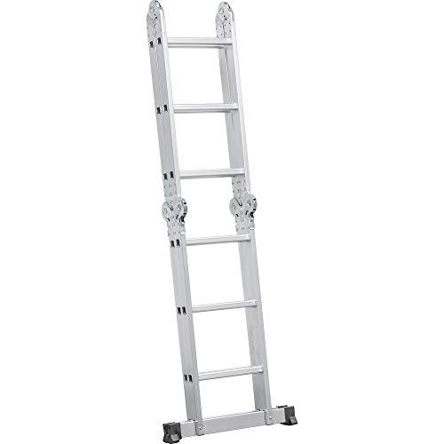 Escada Articulada Em Alumínio Vonder 3 X 4