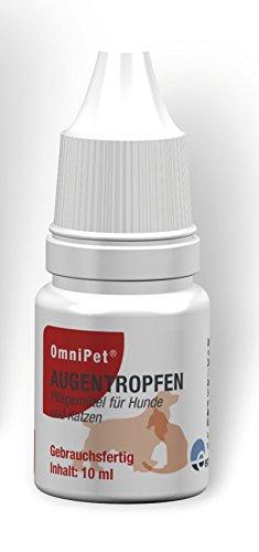 ecuphar 10ml OmniPet Augentropfen für Hunde & Katzen