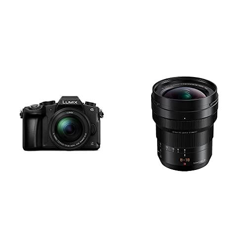 Panasonic Lumix DMC-G80M - Cámara Evil de 16 MP + Panasonic Leica DG Vario-ELMARIT H-E08018 - Objetivo Gran