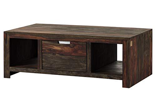 Table Basse 118x65cm - Bois Massif de Palissandre huilé - Tambora #878