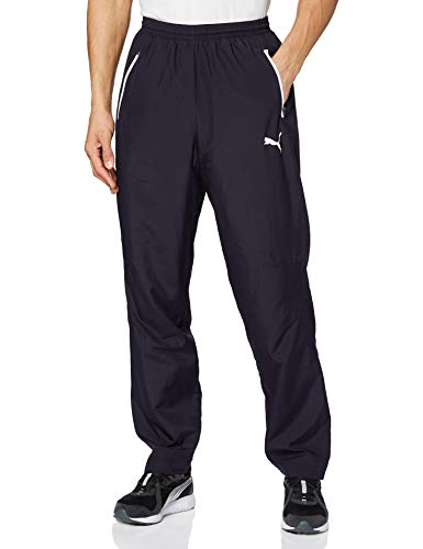 PUMA Herren Leisure Pant Jogginghose, new navy-white, L