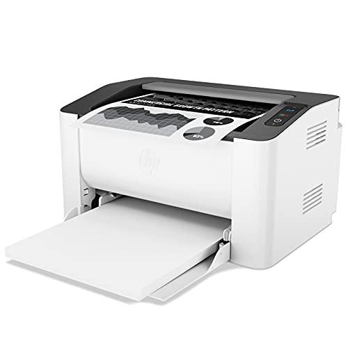 HP LaserJet 107w 4ZB78A, Stampante Laser Bianco e