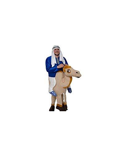 DISBACANAL Disfraz Beduino con Camello Adulto - -, XL