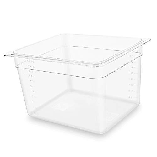 Sous Vide Container 12 Quart for Sous Vide Cooker,...