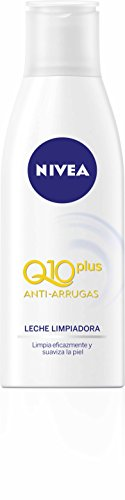 NIVEA Q10Plus Leche Limpiadora para Cara y Rostro - 200 ml