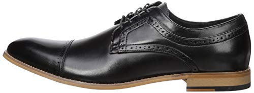 Stacy Adams Men's Dickinson Cap Toe Oxford, Black, 14 W US