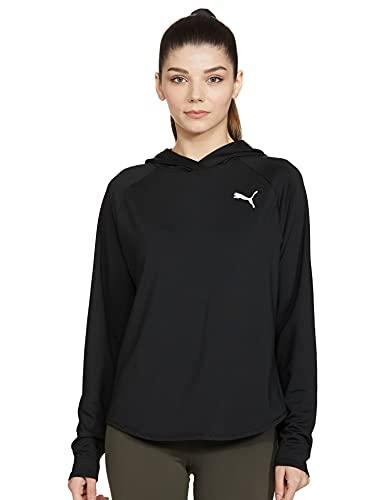 PUMA Herren Core18 Fz Hoody Sweatshirt, Black, S-L