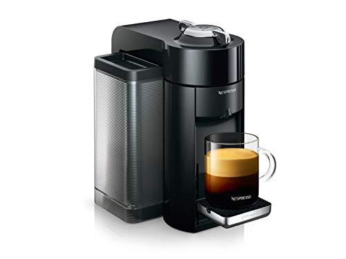 De 'Longhi Nespresso vertuo | env 150.r Cafetera de cápsulas Schwarz mit Flow Stop Funktion