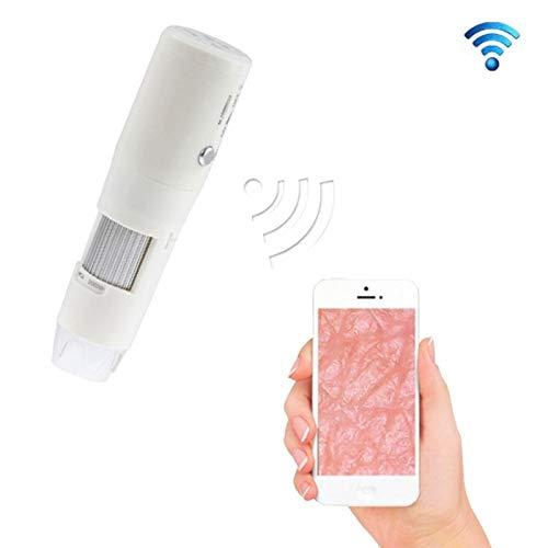 WXX 200X Microscopio Digital inalámbrico de Mano inalámbrico WiFi for teléfonos Inteligentes iOS/Android (Blanco)