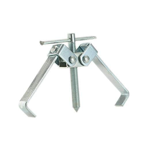 qun---qun Dos patas de gemelas conjuntos de gemelos Removedor de extractor de tirador de herramientas Mano Kit de eliminación de rodamientos Puller Splitter Herramienta de ajuste para la rueda Hub Piñ