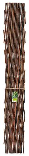 Verdemax 5791 Traliccio Estensibile In Salice Naturale Mt 1,8X0,6
