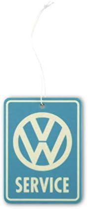 Bubble Gum//Hellblau BRISA VW Collection Duft-Spender f/ürs Auto//KFZ mit VW T1 Bulli Bus Frontmotiv Volkswagen Luft-Erfrischer in der Dose