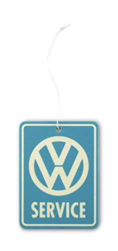 BRISA VW Collection - Volkswagen Luft-Erfrischer, Duft-Spender, Duft-Baum fürs Auto/KFZ (New Car/VW Service)