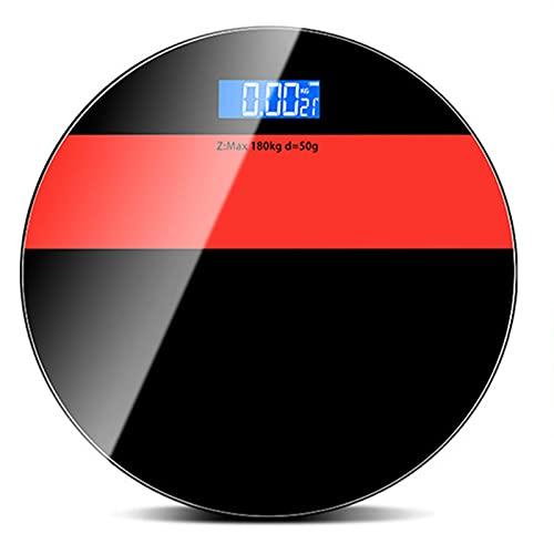Báscula Digital baño Inteligente Grasa Corporal Básculas Digitales de precisión Scales Pesa electrónica USB Recargable doméstica,Red,batterys