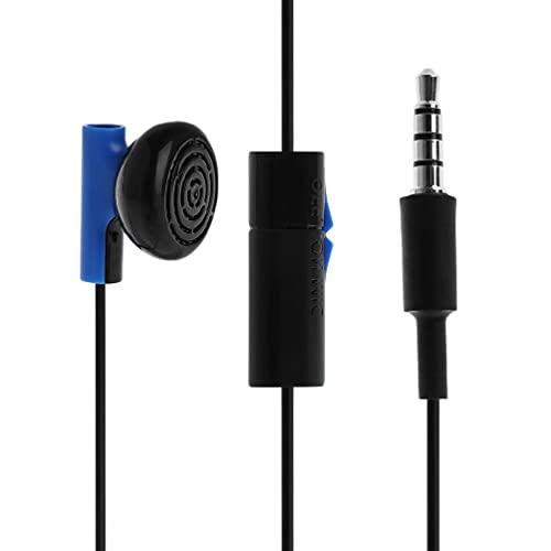 Frotox Auriculares internos, Auriculares internos con Cable con micrófono y Control de Volumen, Auriculares para PS4