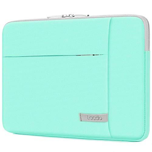 Lacdo 15.6 Inch Laptop Sleeve Case for 15.6' HP Pavilion 15/15s-fq1012na, Lenovo V15 V145 V155, Acer Aspire 3 5 7/Nitro 5, Dell Inspiron 15, Asus VivoBook X512/TUF FX505 FA506 Notebook Case Bag, Green