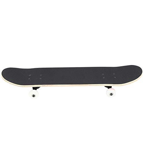 Alomejor 4 Räder Skateboard Tragbares Longboard Leuchtende Räder Skateboard Tanzen Road Dance Board für Teenager Erwachsene