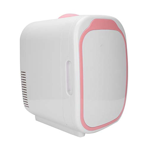 Mini refrigeradores, exquisito refrigerador para almacenar productos para el cuidado de la piel y cosméticos, caja de almacenamiento eléctrica de temperatura ajustable para frío y calor