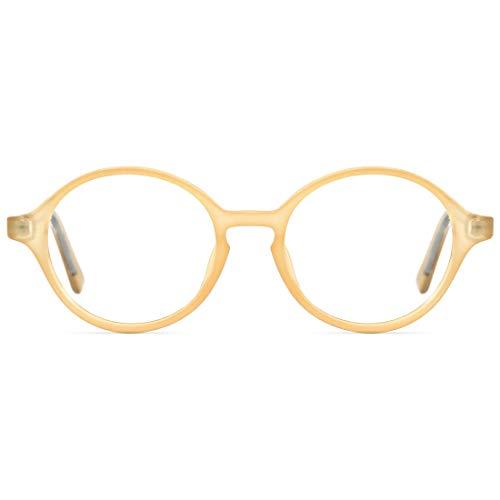 TIJN Blaulichtfilter Brillen /Übergr/ö/ße Brillen ohne sehst/ärke Computer Brillen Gaming Brillen f/ür PC Handy Metallrahmen anti Sch/ädlichen Strahl Damen Herren