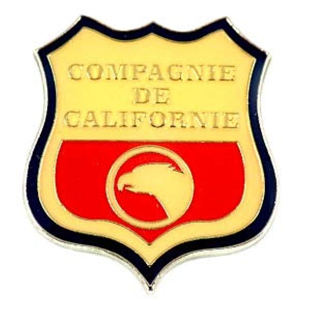 側溝朝食を食べる材料限定 レア ピンバッジ カリフォルニア州アメリカ/USA紋章イーグル鷲 ピンズ フランス COMPAGNIE-DE-CALIFORNIE