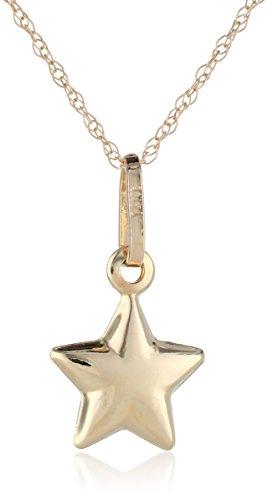 Gold Petite Star Pendant Necklace