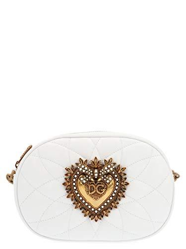 Luxury Fashion | Dolce E Gabbana Donna BB6704AV96780002 Bianco Borsa A Spalla | Autunno Inverno 19
