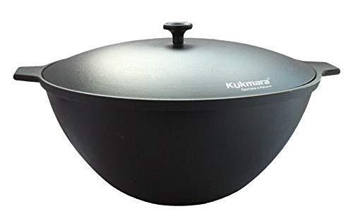 Kukmara Kasan Gusseisen 7L Original Tatarski Kazan Asien Wok Dutch Oven