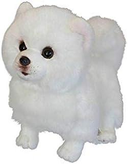 Plush toys, 1pc simulation dog Realistic Plush White Stuffed Animal Soft Toy Dog for Kids Children Gifts,plush toys for ki...