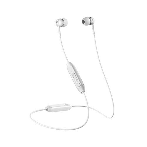 Sennheiser kabelloses Headset CX 150BT mit Nacken-Kabel, Weiß