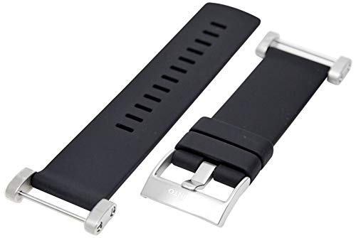 Suunto Zubehör CORE FLAT RUBBER STRAP, schwarz, One size