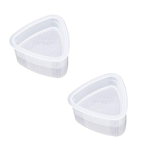 2Pcs / Set Sushi Mold Onigiri Maker Rice Ball Bento Presses Mould Outils de bricolage Outils pratiques de cuisson