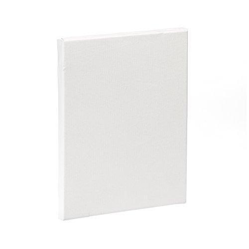 Lienzos Levante Lienzo de Algodón en Blanco, Listones de 46x17 mm, Imprimación Acrílica, 40x30 cm