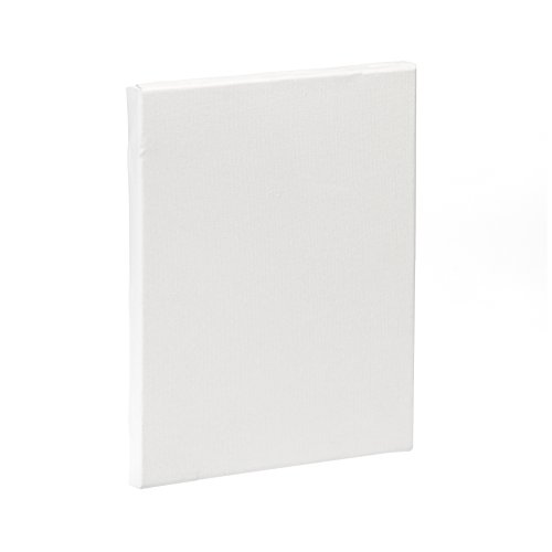 Lienzos Levante Lienzo de Algodón en Blanco, Listones de 46x17 mm, Imprimación Óleo, 25x20 cm