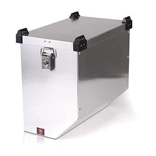 Maleta Lateral de Aluminio para Motos para Suzuki Bandit 600/650/ S Bagtecs Atlas 41l Bolsa Lateral