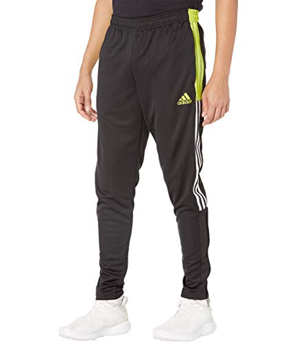 adidas,Mens,Tiro Track Pants CU,Black/Acid Yellow,XX-Large
