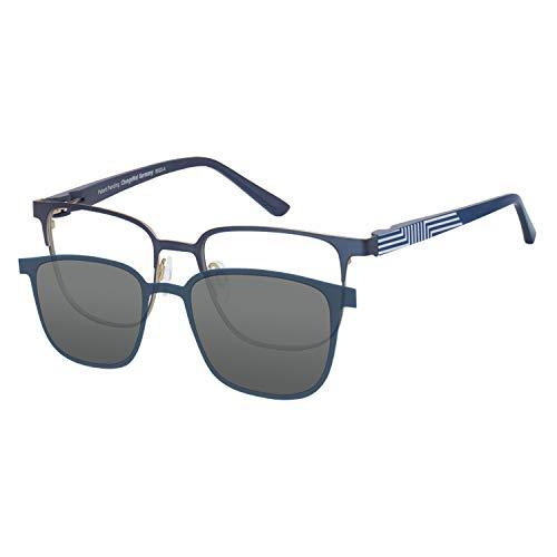 Change Me Brille mit Magnet Sonnenclip mit Wechselbügel (2426-2) blau