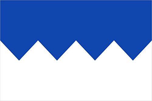 magFlags Bandera Large Municipal de Velilla del Río Carrión | Bandera Paisaje | 1.35m² | 90x150cm