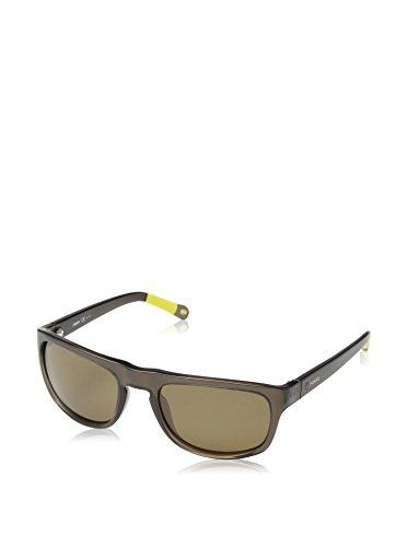 Fossil Sonnenbrille FOS 3001/P/S Rechteckig Sonnenbrille 56, Braun