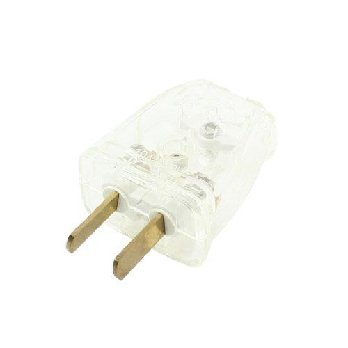 Aexit 2 Pin AU / US-Stecker Ladegerät Adapter 10A AC 250V Clear (85904a948e7a719e040ce78bb797bd95)