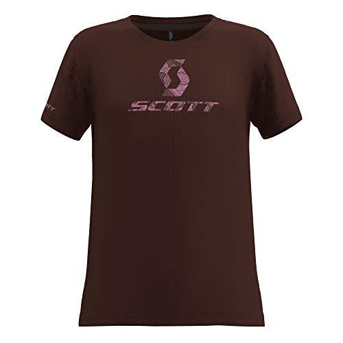 Scott 252562, Bicicleta Unisex para niño, Maroon Red, 128