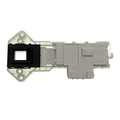 Accesorio Lavadora Compatible con 6601EN1003D genuino LG Lavadora de los componentes electrónicos de bloqueo de puerta Interruptor de bloqueo de retardo Asamblea Accesorios para electrodomésticos