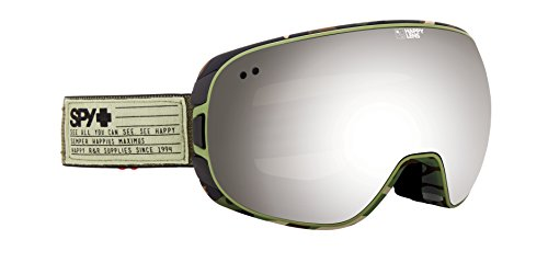 Spy Doom Fatigue Skibrille, Happy Gray Green, One Size