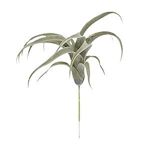 Silk Flower Arrangements Lecimo Artificial Bromeliad, Fake Bromeliads Simulation Fake Flower Small Micro Landscape Plants for Wall Home Garden Decoration