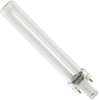 (10 Pack) SYLVANIA 21136 - CF13DS/827/ECO - 13 Watt CFL Light Bulb - Compact Fluorescent - 2 Pin GX23 Base - 2700K -