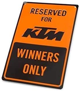 KTM Winners Only Parking Sign 3PW1871800