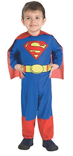 Rubies Officiel Superman Enfants Déguisement garçon Super-héros pour Enfant Enfant Costume de Bande dessinée
