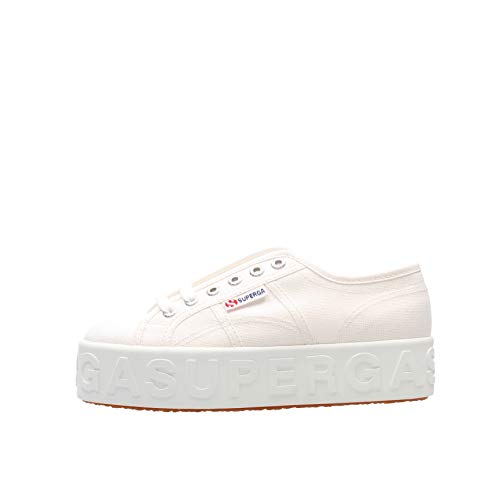 SUPERGA 2790 Cotw Lettering 3D Schuh 2021 White, 38