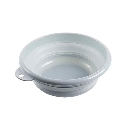 Wastafel Op Wasruimte Basket Bowl Basin Plastic Opvouwbare Student Slaapkamer Kunststof Basin Kan Hang Muur Opvouwbare Basin